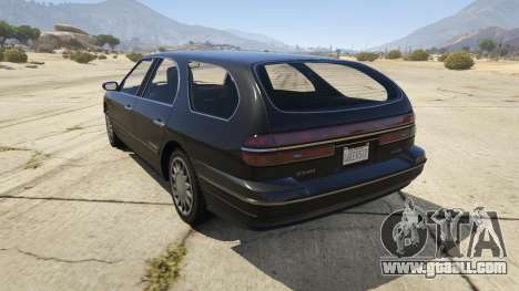 GTA 5 GTA IV Solair rear left side view