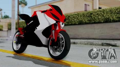 Yamaha YZF-R25 YoungMachine Concept for GTA San Andreas