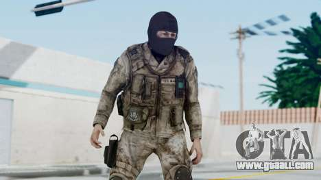 Crysis 2 US Soldier 8 Bodygroup A for GTA San Andreas
