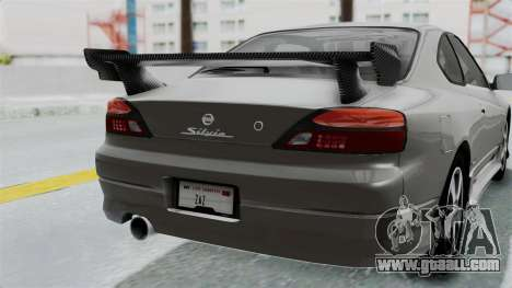 Nissan Silvia S15 Spec-R 2000 for GTA San Andreas side view