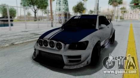 GTA 5 Karin Sultan RS Rally PJ for GTA San Andreas wheels