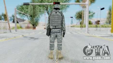 Acu Soldier 4 for GTA San Andreas third screenshot