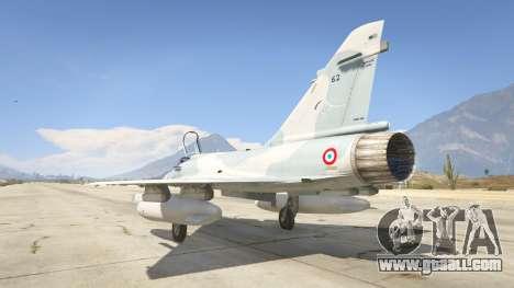 GTA 5 Dassault Mirage 2000-5 third screenshot