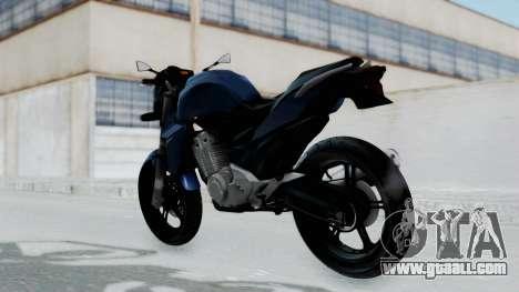Honda CB300R for GTA San Andreas left view