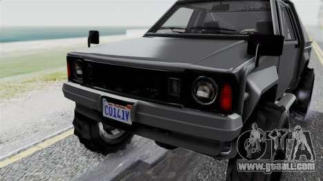 GTA 5 Karin Rebel 4x4 IVF for GTA San Andreas upper view