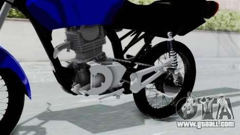 Honda CG Titan 2014 Stunt for GTA San Andreas right view