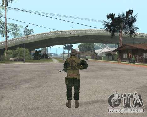 Russian army Skin Pack for GTA San Andreas fifth screenshot