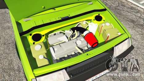 GTA 5 VAZ-21099 rear right side view