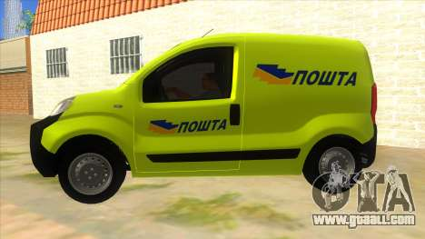 Fiat Fiorino for GTA San Andreas left view