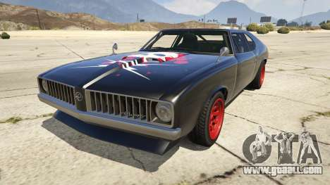 Death Proof Stallion for GTA 5