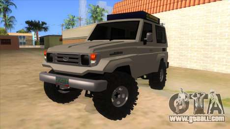 Toyota Machito 4X4 for GTA San Andreas