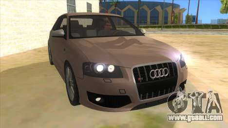 Audi S3 for GTA San Andreas
