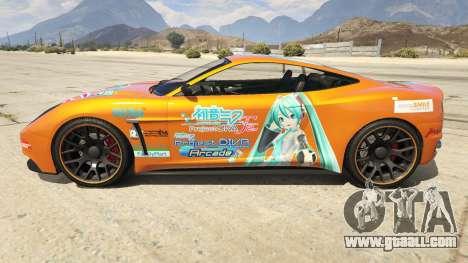 Hatsune Miku Massacro for GTA 5