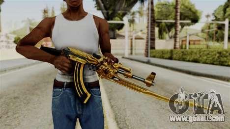 Dragon AK-47 for GTA San Andreas third screenshot