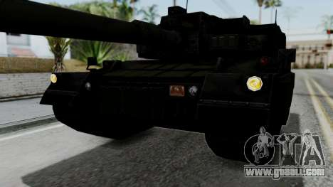 Point Blank Black Panther Woodland IVF for GTA San Andreas upper view
