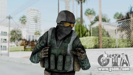 Counter Strike Source Custom Urban Model for GTA San Andreas