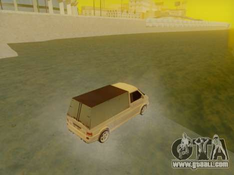 Volkswagen T4 Caravelle 35 Cup (1997) [Вездеход] for GTA San Andreas left view