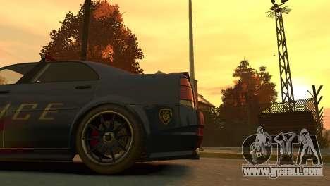 Albany Police Stinger for GTA 4 back view