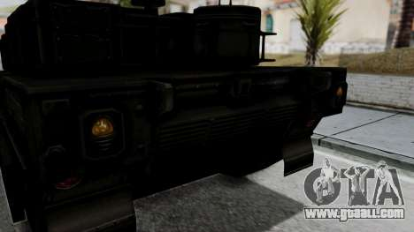 Point Blank Black Panther Woodland IVF for GTA San Andreas back view