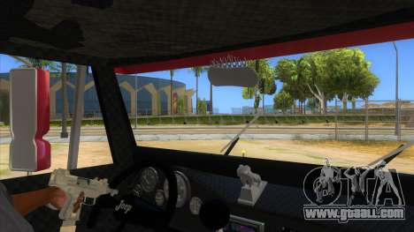 Jeep Pick Up Stylo Colombia for GTA San Andreas inner view