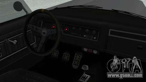 GTA 5 Mamba for GTA San Andreas right view