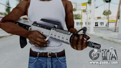 GTA 5 Bullpup Rifle - Misterix 4 Weapons for GTA San Andreas third screenshot