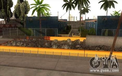 Repair work on Grove Street for GTA San Andreas second screenshot