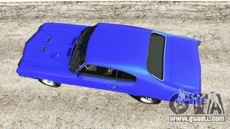 GTA 5 Buick Skylark GSX 1970 back view
