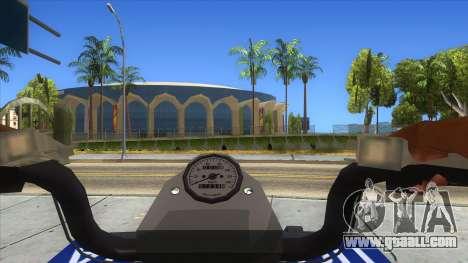 ATV Polaris Police for GTA San Andreas inner view