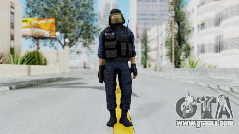 GIGN 1 Masked from CSO2 for GTA San Andreas second screenshot