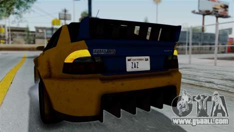 GTA 5 Karin Sultan RS Rally PJ for GTA San Andreas side view