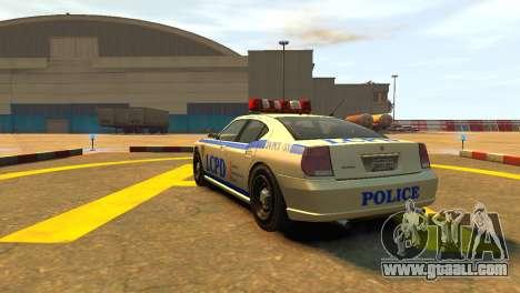 Bravado Buffalo Police Patrol [original wheels] for GTA 4 back left view
