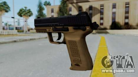 HK45 Sand Frame for GTA San Andreas second screenshot