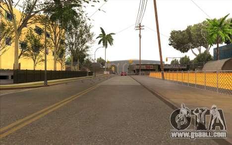 Repair work on Grove Street for GTA San Andreas fifth screenshot