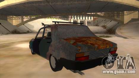 Dacia 1310 Rusty v2 for GTA San Andreas back left view