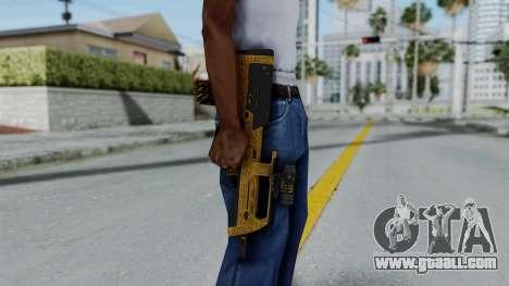 GTA 5 Online Lowriders DLC Assault SMG for GTA San Andreas