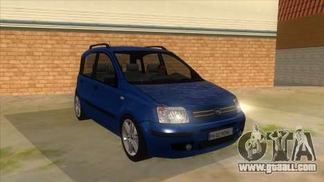 Fiat Panda V3 for GTA San Andreas back view