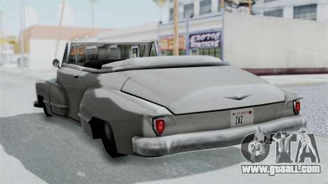 Broadway Augmented for GTA San Andreas right view