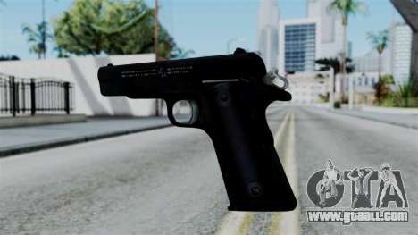 No More Room in Hell - Colt 1911 for GTA San Andreas third screenshot