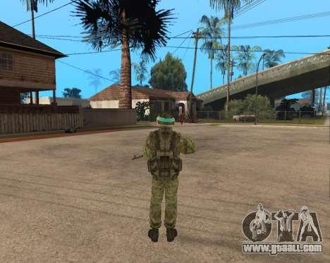 Russian army Skin Pack for GTA San Andreas third screenshot
