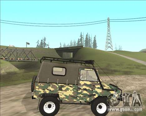 969М LuAZ Off Road for GTA San Andreas left view