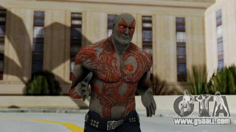 Marvel Heroes - Drax for GTA San Andreas