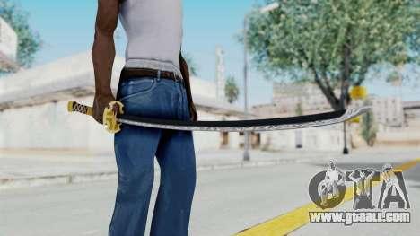 Samurai Sword v1 for GTA San Andreas