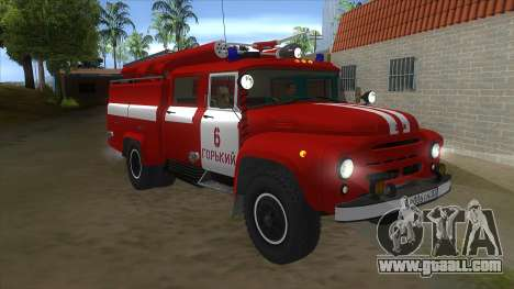 ZIL 130 AC-40 for GTA San Andreas back view