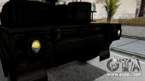 Point Blank Black Panther Woodland IVF for GTA San Andreas inner view