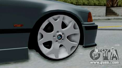 BMW 320 E36 Coupe for GTA San Andreas back left view