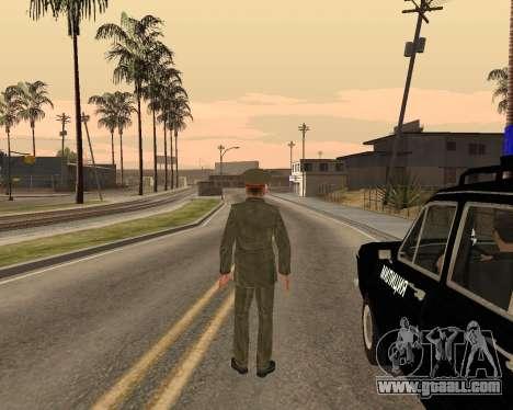Russian army Skin Pack for GTA San Andreas eleventh screenshot