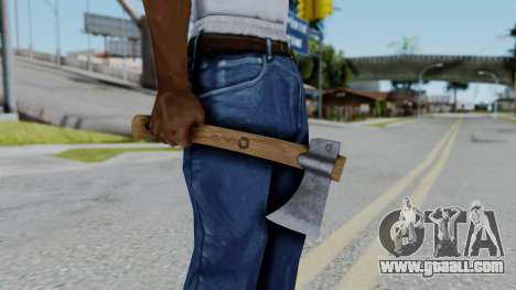 No More Room in Hell - Hatchet for GTA San Andreas third screenshot
