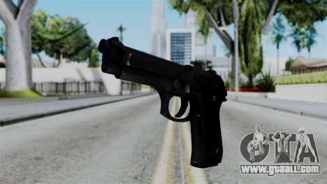 No More Room in Hell - Beretta 92FS for GTA San Andreas