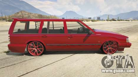 GTA 5 Volvo 945 left side view